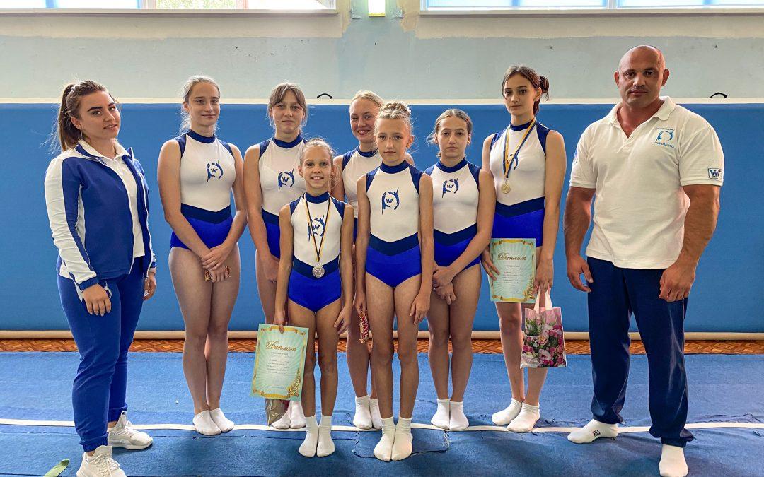Кубок Днепропетровской области по прыжкам на акробатической дорожке